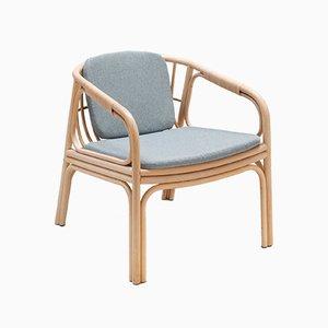 HUBLOT Armlehnstuhl in Mittelgrau von Guillaume Delvigne für ORCHID EDITION