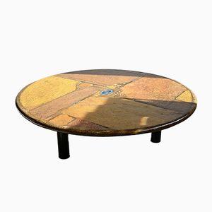 Table Basse en Ardoise par Paul Kingma, 1997