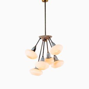 Vintage Italian Sputnik Ceiling Lamp, 1950s