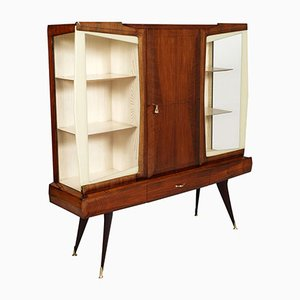 Mid-Century Italian Cabinet Bar by Vittorio Dassi for Cantu, 1950s
