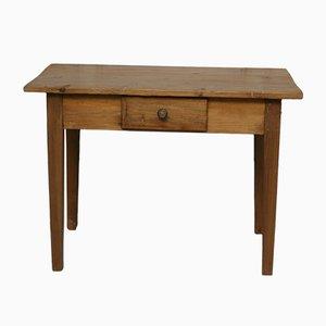 Mesa infantil antigua de madera