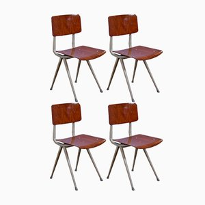 Result Chairs by Friso Kramer for Ahrend de Cirkel, 1970s, Set of 4