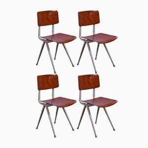 Result Stühle von Friso Kramer für Ahrend de Cirkel, 1970er, 4er Set