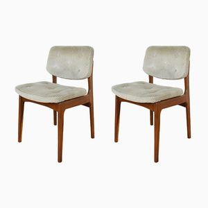 Dänische Mid-Century Stühle aus Teak, 2er Set