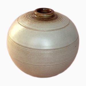Vase en Céramique Art Déco par Anna-Lisa Thomson pour Upsala Ekeby, Suède, 1939