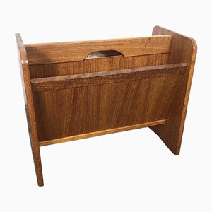 Vintage Danish Teak Magazine Rack from PBJ, 1960s