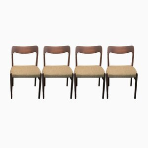 Vintage No. 75 Teak Chairs by Niels Otto Møller for J.L. Møllers, Set of 4