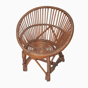 Rattan Children's Chair, 1960s