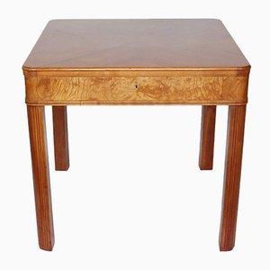Table d'Appoint Art Déco avec Tiroir