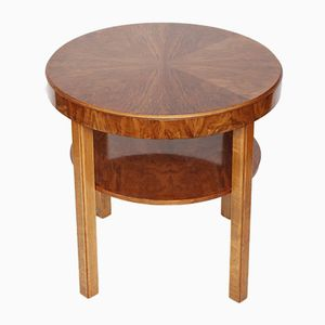 Art Deco English Side Table, 1930s