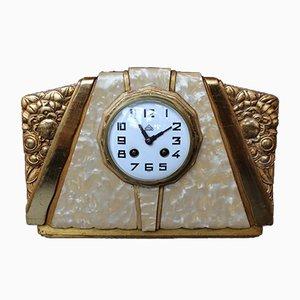 Horloge Art Déco par Süe et Mare