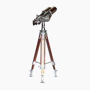 Art Deco Japanese Binocular Telescope from Nikon, 1940s