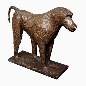 Pavian-Skulptur von Dame Elisabeth Frink, 1976