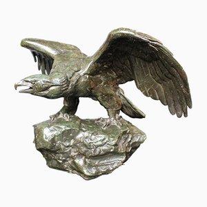 Antike Adler-Skulptur von Antoine Louis Barye, 1860er