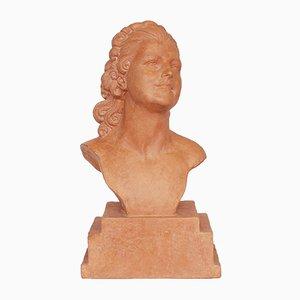 Busto Birgitta in terracotta di Demetre Chiparus, anni '20