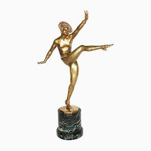 High Kick Skulptur von J. P. Morante, 1920er