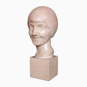 Busto Art Déco di L. Doré, 1924