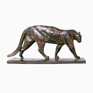Art Deco Panther von Albéric Collin, 1920er