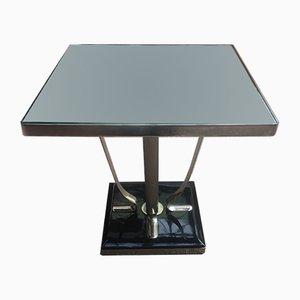 Tavolino Art Déco di Jacques Adnet