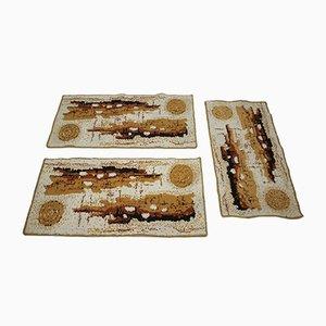 Tschechische Vintage Teppiche, 1980er, 3er Set