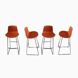 Hohe Modell Lottus Stühle von Lievore Altherr Molina, 1980er, 4er Set
