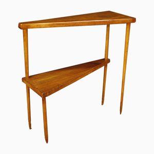 Tavolino in frassino, Italia, anni '60