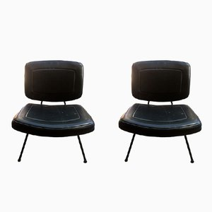 Mid-Century CM190 Lounge Chairs by Pierre Paulin for Thonet, Set of 2