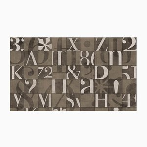 Alphabetum Wall Covering from Wall81, 2019