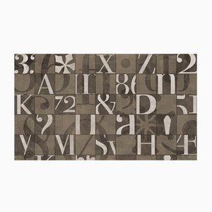Carta da parati Alphabetum di Wall81, 2019