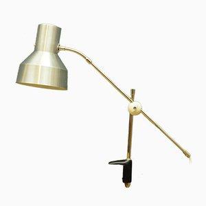 Lámpara de mesa danesa, años 60