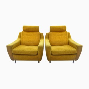 Lounge Chairs by Michel Mortier for Steiner, 1950s, Set of 2