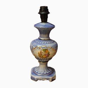 Lampada da tavolo antica in porcellana, anni '60