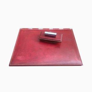 Accessorio da scrivania in pelle di Hermès, anni '60