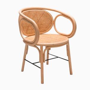 Contour Armlehnstuhl aus Rattan von ORCHID EDITION