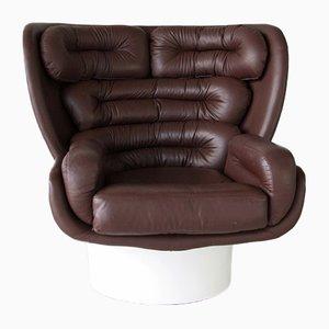 Italian Elda Chair by Joe Colombo for Comfort, 1963