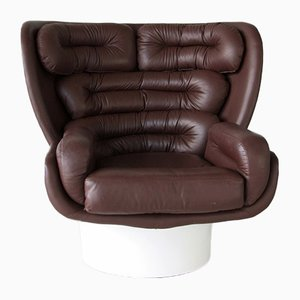 Italienischer Elda Sessel von Joe Colombo für Comfort, 1963