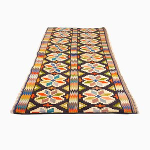 Large Mid-Century Swedish Kilim, 1950s