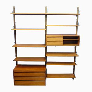 Danish Royal System Wall Shelf by Poul Cadovius for Cado, 1960s