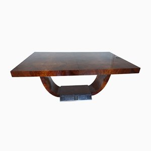 Art Deco Conference Table by Saddier for Saddier et Fils