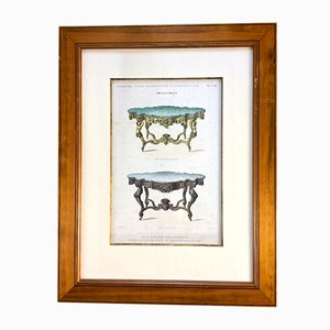19th-Century French Furniture & Interiors Lithograph by Imp. de Decan for M. Jansen