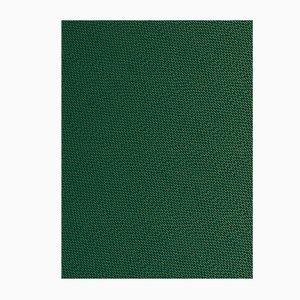Carta da parati Happy Rain verde e dorata di Marta Bakowski per La Chance, 2018
