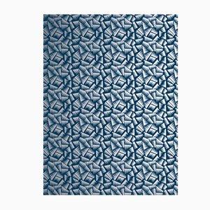 Blue & Silver JER Wallpaper from La Chance, 2018