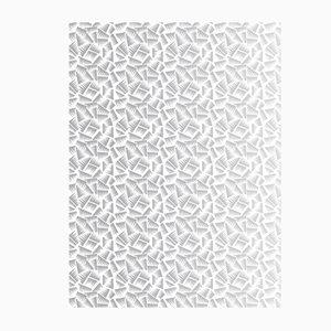 Papier-Peint JER Blanc et Argent de La Chance, 2018