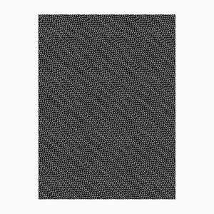 Black & White Happy Rain Wall Covering by Marta Bakowski for La Chance, 2018