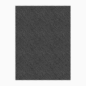 Papel pintado Happy Rain negro y blanco de Marta Bakowski para La Chance, 2018