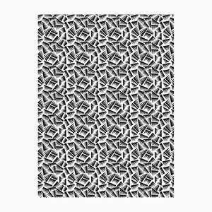 Black & White JER Wall Covering from La Chance