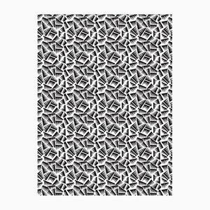Papel pintado JER blanco y negro de La Chance