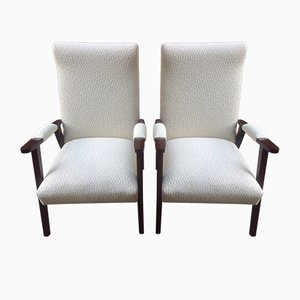 Scandinavian Armchairs, 1950s, Set of 2