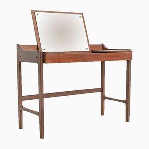Danish Modern Teak Vanity Table, 1960s