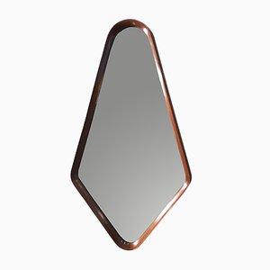 Specchio Mid-Century in teak, anni '50